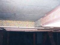 Akoestisch foam voor geluidsisolerend plafond